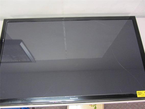 Tv Smart Modelo Tc 32as600b Visor Com Trinco Vendo Baixou