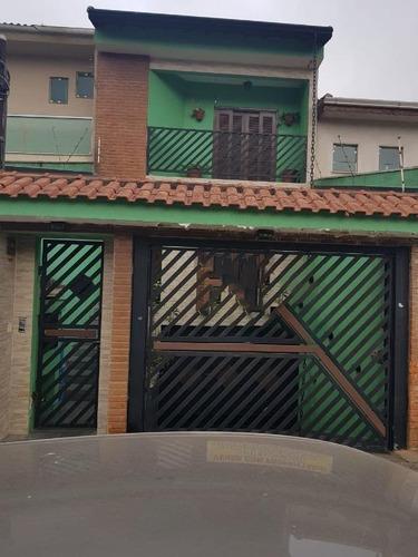 Imagem 1 de 26 de Sobrado Com 4 Dormitórios À Venda, 323 M² - Vila Linda - Santo André/sp - So20274