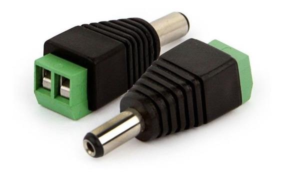 Plug Conector P4 Macho P/ Cftv Camera Borne