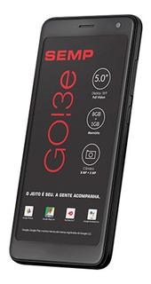 Smartphone Semp Go 3e, Preto, Sc7731e, Tela De 5 , 8gb, 8mp