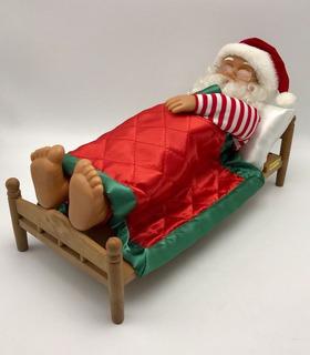 Figuras Santa Claus Se Mueven Sonido Y Luces