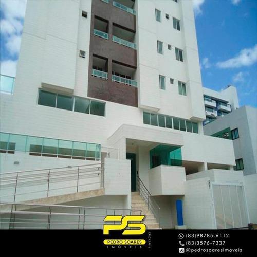 Apartamento Com 2 Dormitórios À Venda, 65 M² Por R$ 316.000 - Jardim Oceania - João Pessoa/pb - Ap3194