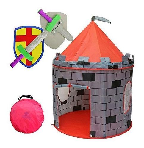 Tienda De Campaña Caballero Del Castillo De Kids Play, Kidd