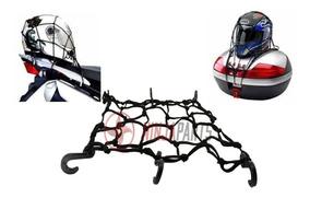5 X Rede Elastica Aranha Moto Capacete 42cm X 42cm Bagageiro