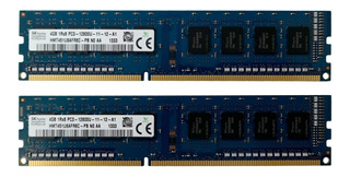Kit De Memorias Sk Hynix Ddr3 8gb (2x4gb) 1600mhz Pc3-12800u