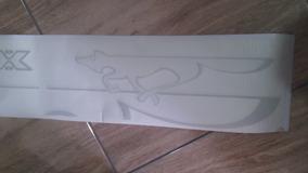 Adesivo Cross Fox Prata