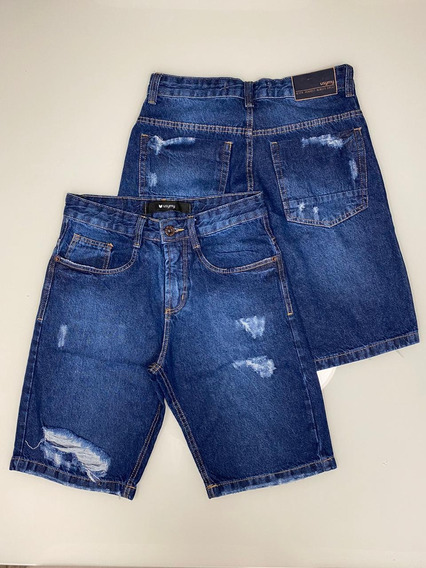 Bermuda Jeans Masculina Usemy