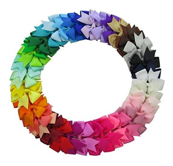 Lote 40 3 Moños Colores Niña Adulto Pelo Clips Boutique