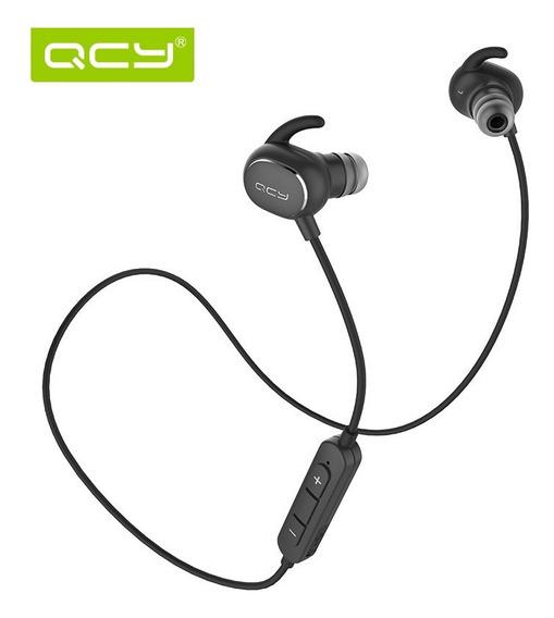 Fone Com Microfone Bluetooth Qcy Qy19 Sem Fio Novo