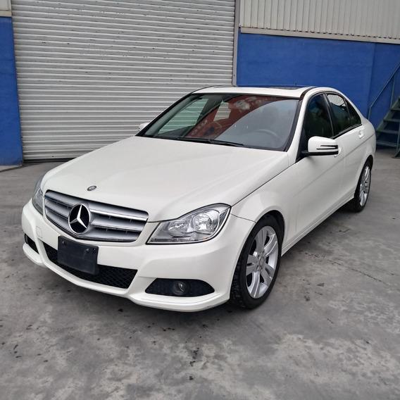 Mercedes Benz C-200 2012 Blanco Crédito Disponible Tomo Auto