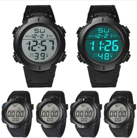 Relógio Masculino Digital Led Esportivo