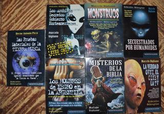 Lote 7 Libros Sobre Ovnis, Enigmas, Etc ¡¡7 X $ 350 !!