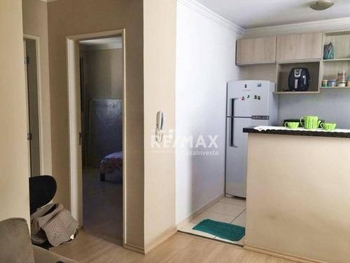 Apartamento Com 2 Quartos À Venda, 51 M² Por R$ 147.999 - Água Espraiada (caucaia Do Alto) - Cotia/sp - Ap0293