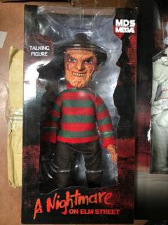 Freddy Krueger Talking Figure Mezco Toyz