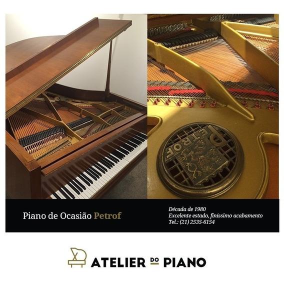 Piano De Cauda Petrof - Novo -