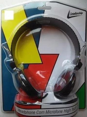 Headphone Com Microfone High Tech Leadership