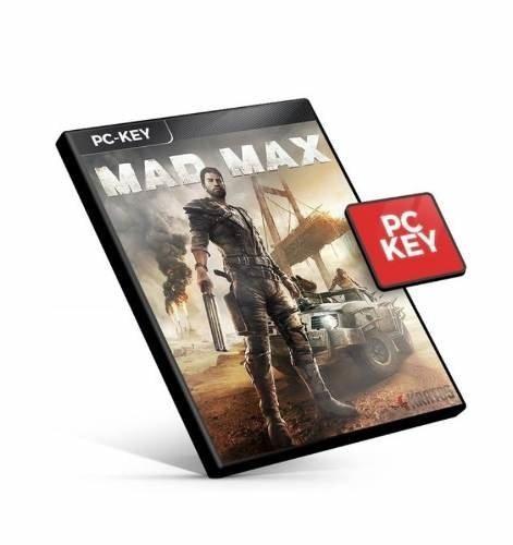 Mad Max Pc Steam Key Ptbr Código 15 Dígitos Envio Rápido
