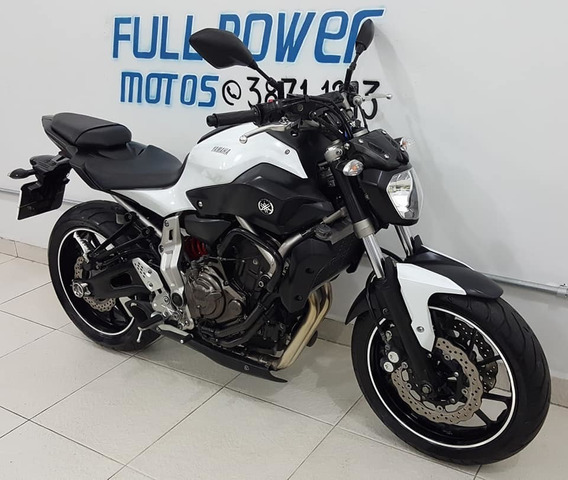 Yamaha Mt 07 Branca 2016/2016