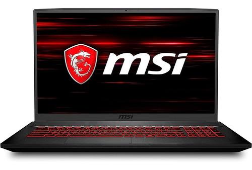 Notebook Gamer Msi Gf75 I7 1650ti 16g 512nvme 144hz W10