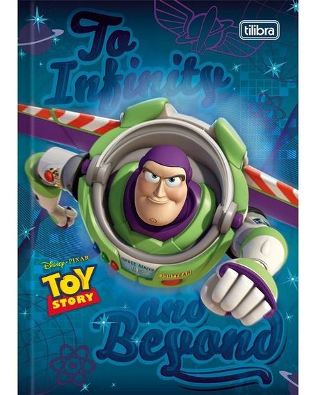 Caderno Brochura 1/4 96 Folhas Toy Story - Tilibra