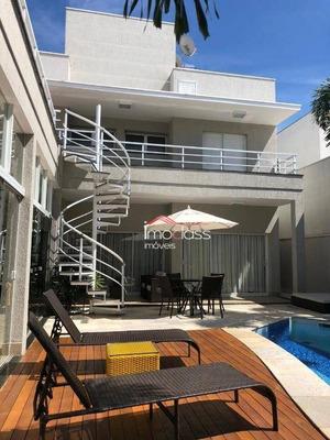 Linda Residencia - Alto Padrão - Condomínio Fechado Em Americana /sp - Ca0990
