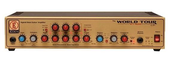 Cabezal Amplificador De Bajo Eden Wt800 World Tour Cuotas