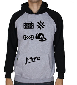 Casaco Moletom Feminino E Masculino Little Mix Blusa Moleton
