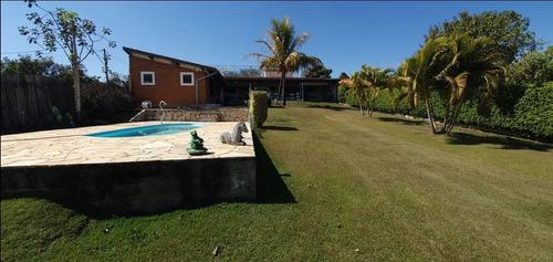 Chácara Com 3 Dormitórios À Venda, 2500 M² Por R$ 650.000,00 - Saltinho - Indaiatuba/sp - Ch0148