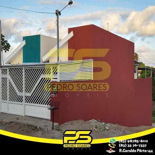 Imagem 1 de 13 de Casa Com 3 Dormitórios À Venda Por R$ 220.000 - Loteamento Boa Vista - Santa Rita/pb - Ca0478