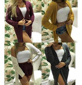 Blusa Casaco Feminino Para Usar Com Roupa Social + Brinde