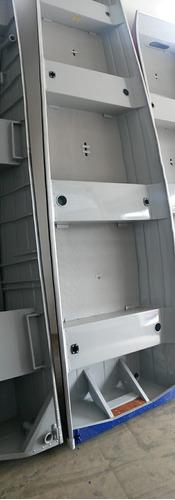 Barco Alumínio 5 Metros Smart 500- 12x Cartão S/acréscimo.