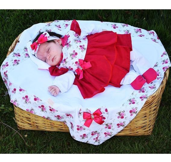 Saída De Maternidade Menina Sonho De Anjo Júlia