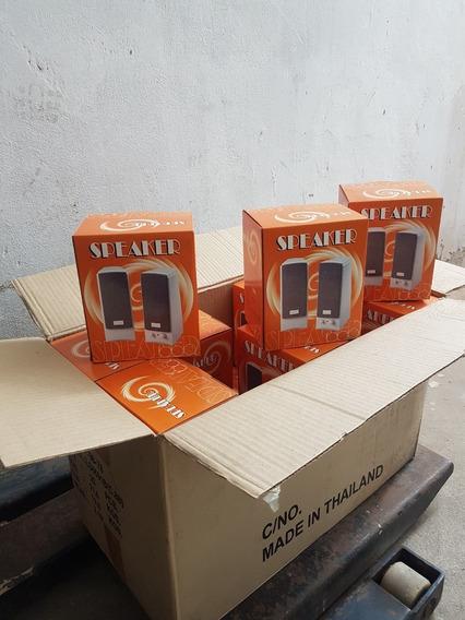 Lote Caixa De Som Informática - 3 Watts + 110v + Novo + Nf