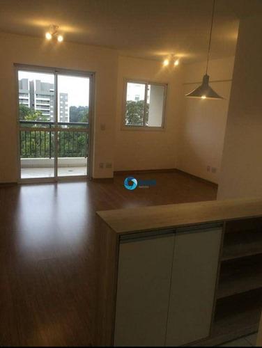 Imagem 1 de 30 de Apartamento Com 2 Dormitórios À Venda, 69 M² - Morumbi - São Paulo/sp - Ap13192