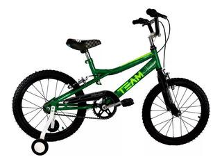 Bicicleta Rod 16 Stark Colores Varon Nene Niño Rueditas Bmx