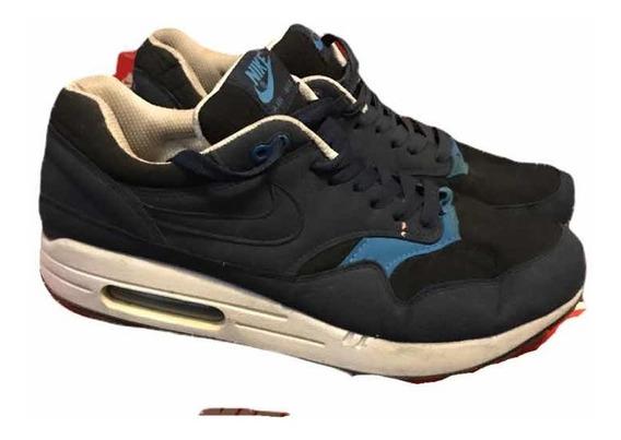 Zapatillas Nike Air Max 1 Azul/negro Hombre