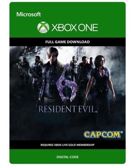 Resident Evil 6 - Xbox One - Codigo 25 Digitos Original
