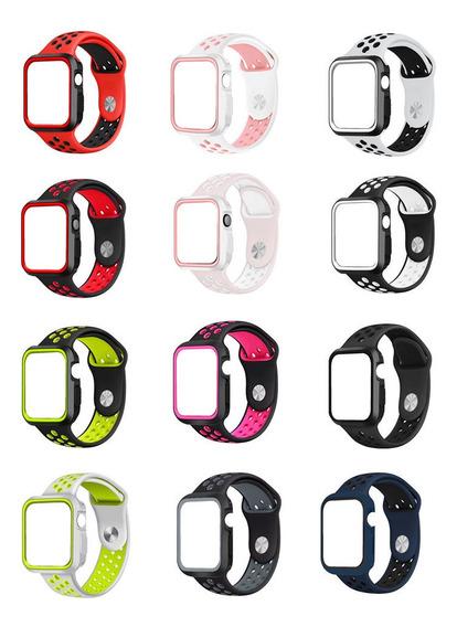 Kit Pulseira Case Nike Sport P/ Apple Watch 38 42 40mm 44mm