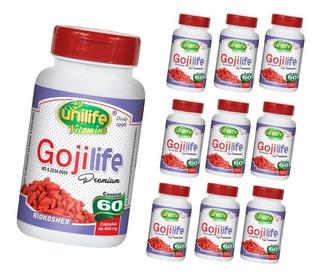 Goji Berry Life 600 Cápsulas Original Emagrecer Com Saúde