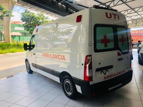 Renault Master 0km Ambulância Uti