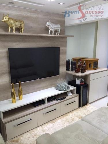Imagem 1 de 24 de Apartamento Com 3 Dormitórios À Venda, 71 M² Por R$ 650.000,00 - Vila Carrão - São Paulo/sp - Ap0668