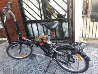 Bicicleta Aurorita Folding Aluminio Plegable .
