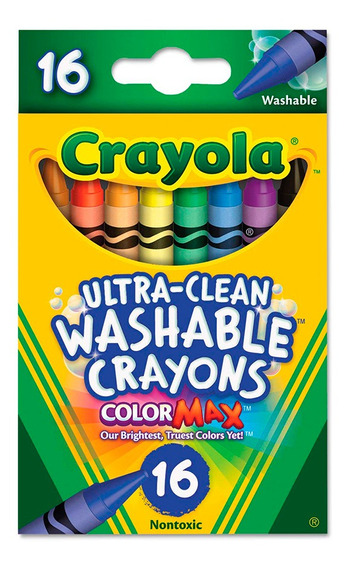 Crayola Crayones X 16 Unidades Wabro