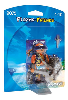 Playmobil 9075 Friends Pirata Con Accesorio Original Bigshop