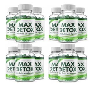 Kit 12 Unid Max Detox 60 Cápsulas