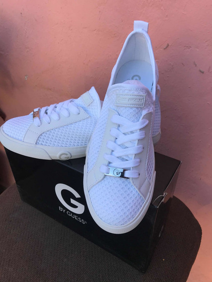 Tenis Guess Mujer Blancos