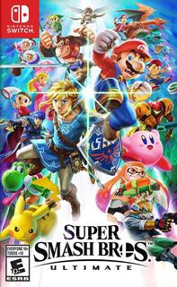 Super Smash Bross Nintendo Switch Nuevo Sellado En Tienda