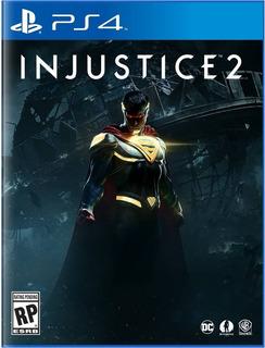 Ps4 - Injustice 2 - Nuevo Y Sellado - Ag