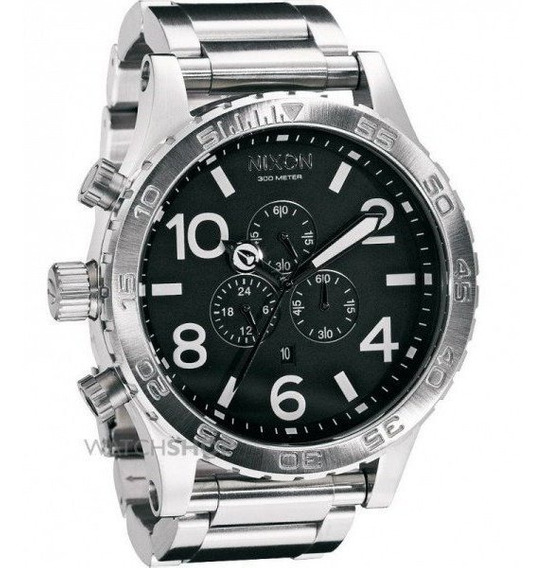 Relógio Ma15 Nixon A083-100 Prata Original