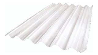 Chapa Plastica Reforzada Sinusoidal Traslucida 6 C U O T A S